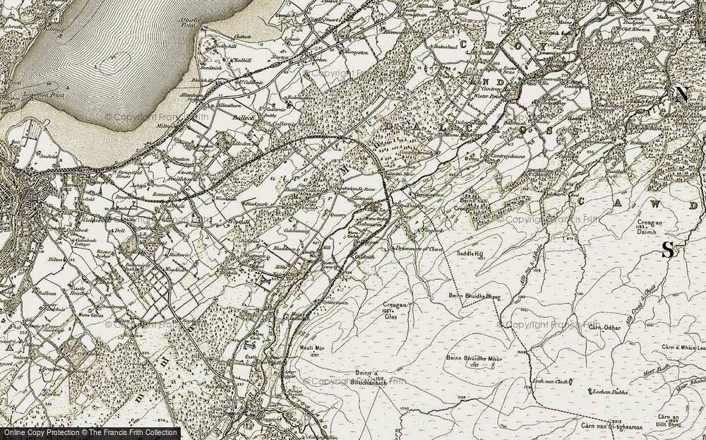 Leanach, 1908-1912
