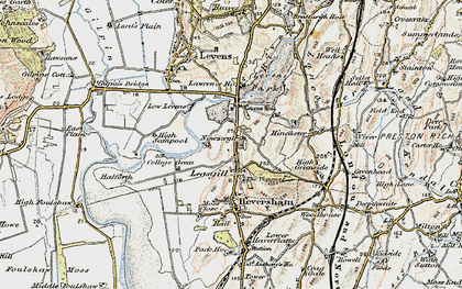 Old map of Leasgill in 1903-1904