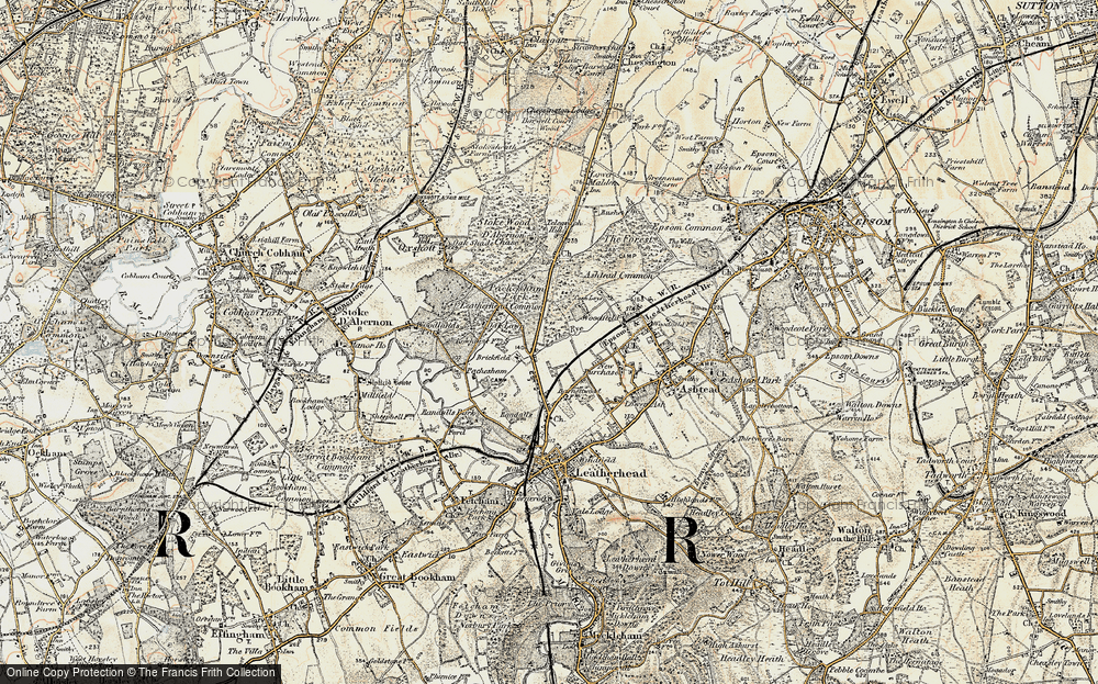 Leatherhead Common, 1897-1909