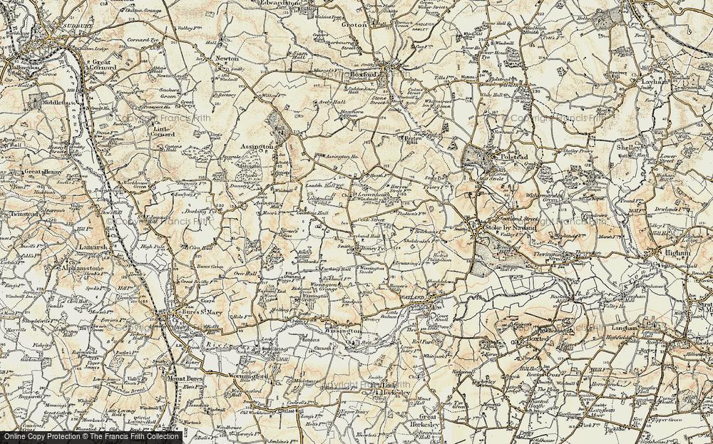 Leavenheath, 1898-1901