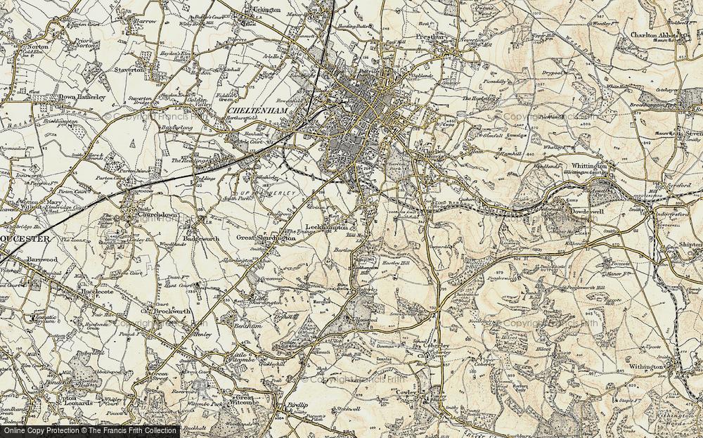 Leckhampton, 1898-1900