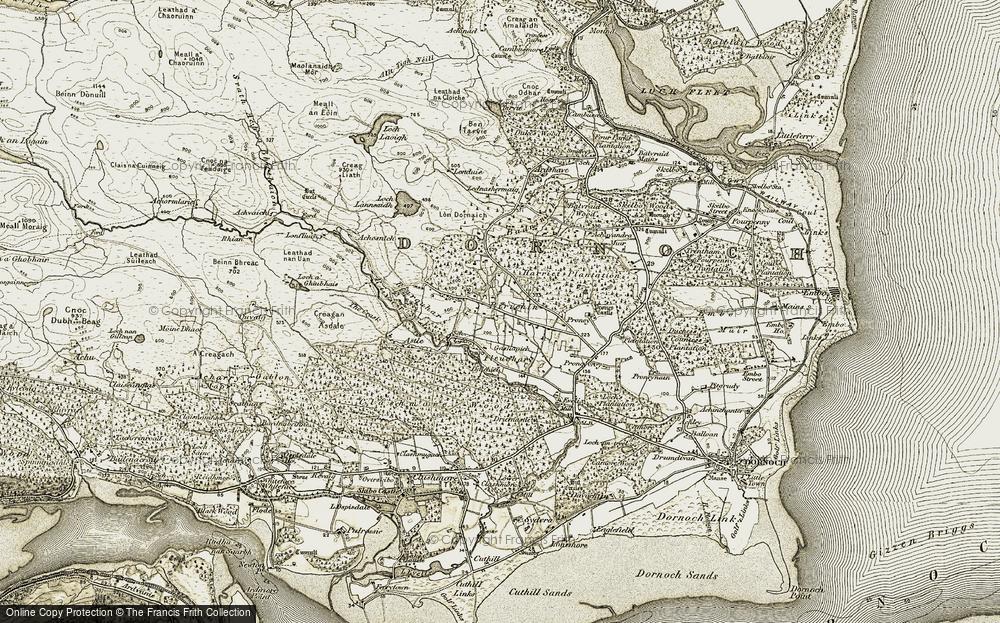 Lednabirichen, 1911-1912