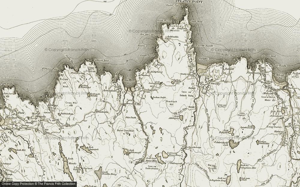 Lednagullin, 1910-1912