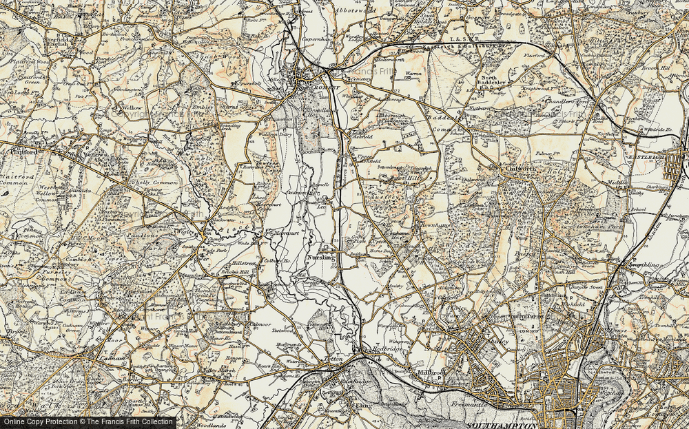 Old Map of Lee, 1897-1909 in 1897-1909