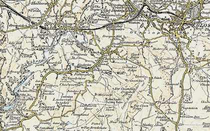 Old map of Lee Head in 1903