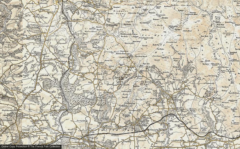 Lee Moor, 1899-1900
