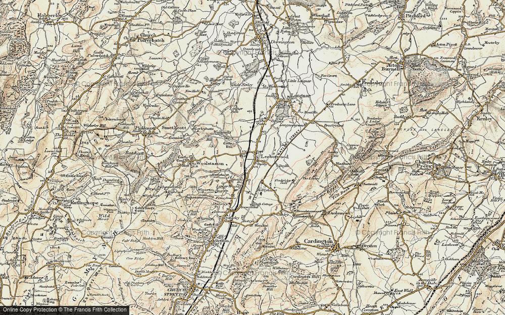 Leebotwood, 1902-1903