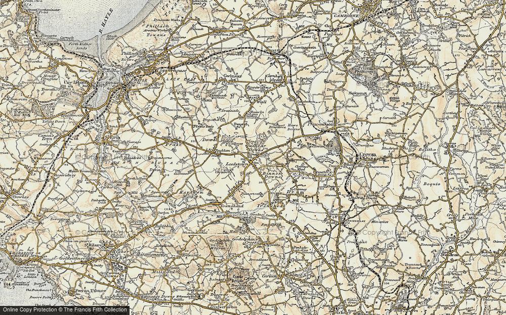 Leedstown, 1900