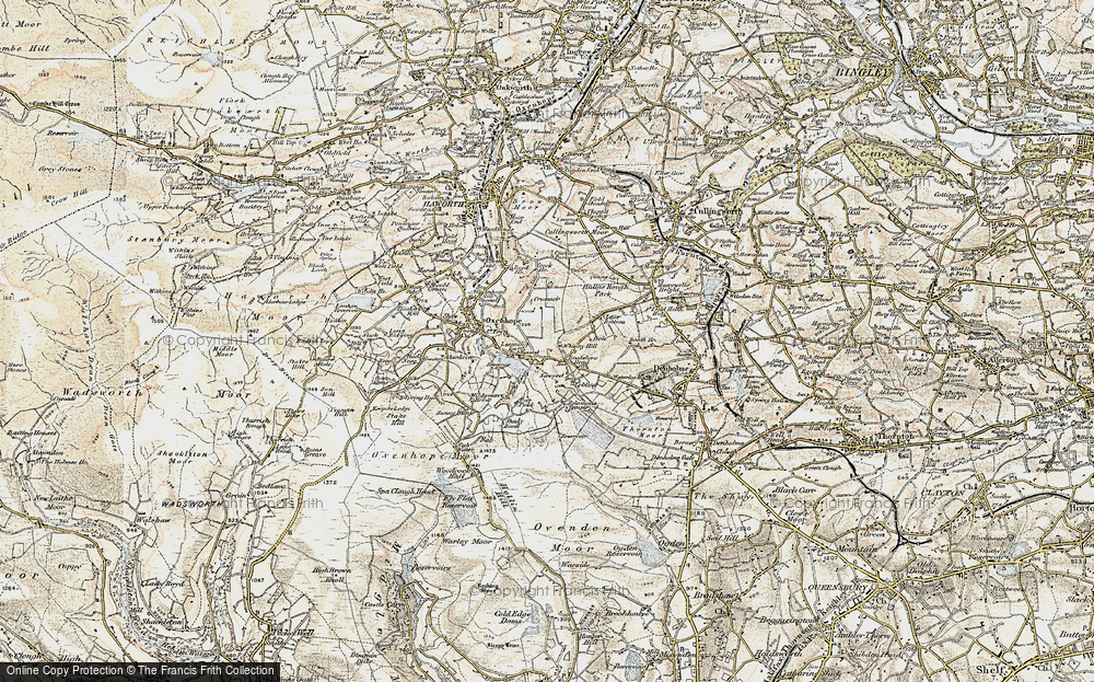 Old Map of Leeming, 1903-1904 in 1903-1904