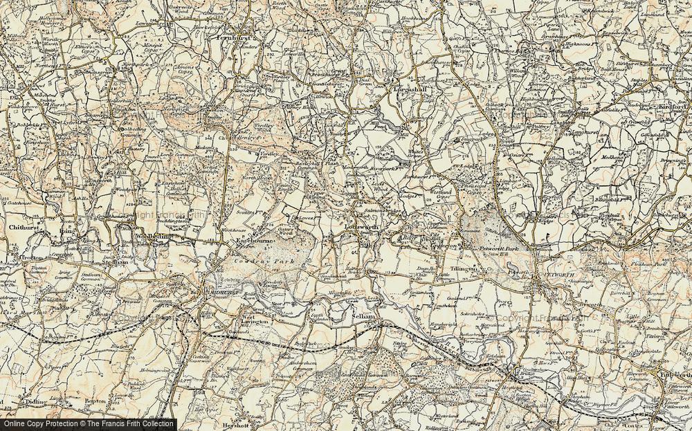 Old Map of Leggatt Hill, 1897-1900 in 1897-1900