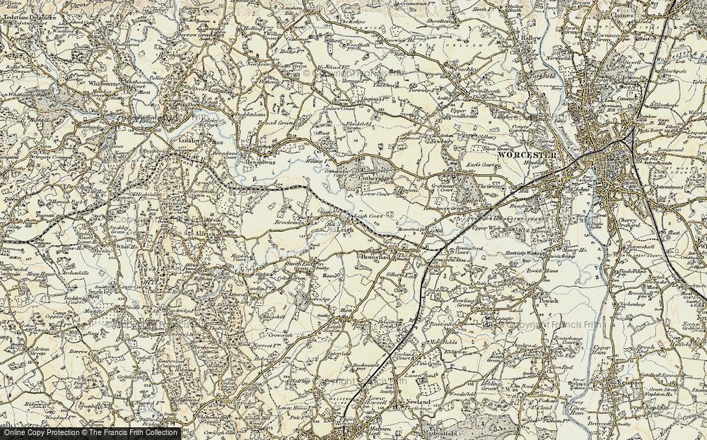 Leigh, 1899-1901