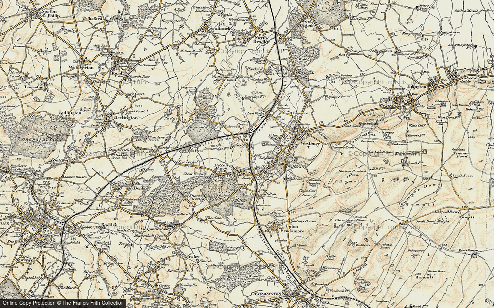 Old Map of Leigh Park, 1898-1899 in 1898-1899