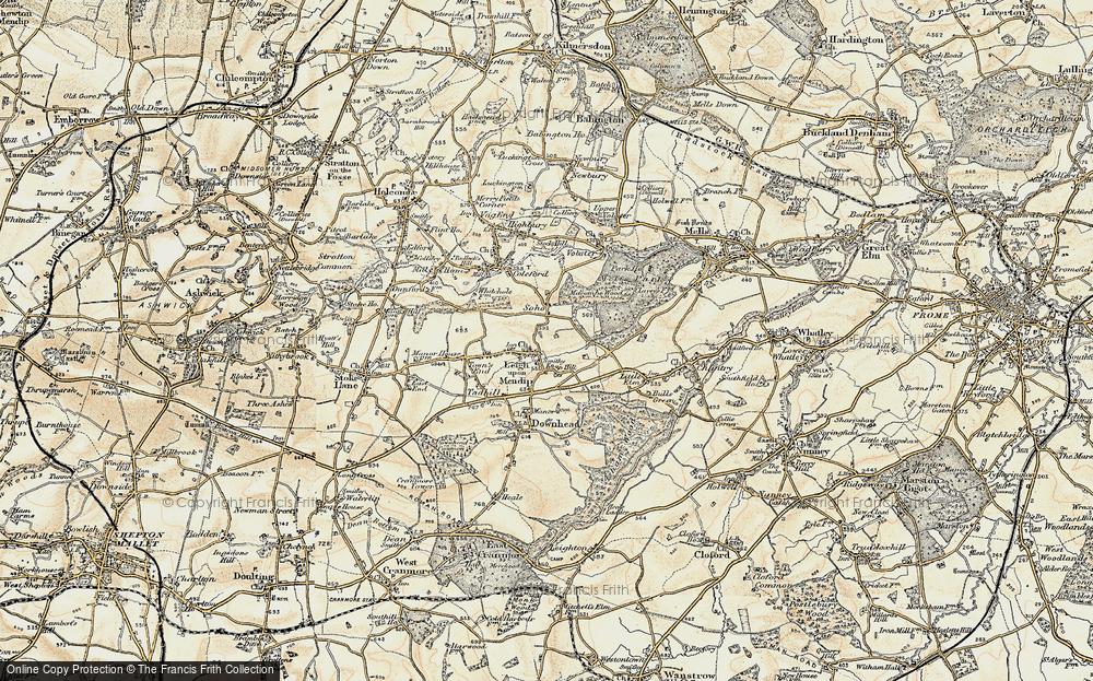 Leigh upon Mendip, 1899