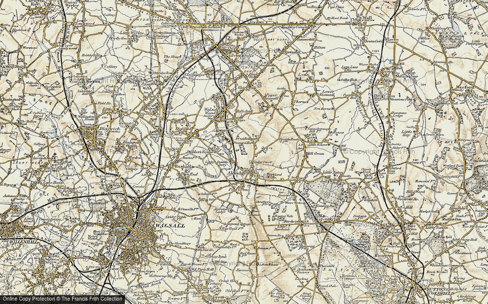 Old Map of Leighswood, 1902 in 1902