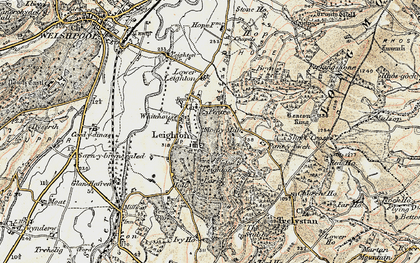 Old map of White Ho, The in 1902-1903