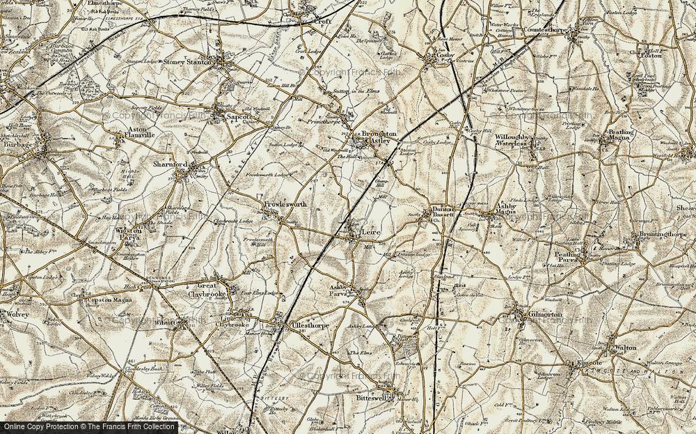 Leire, 1901-1902