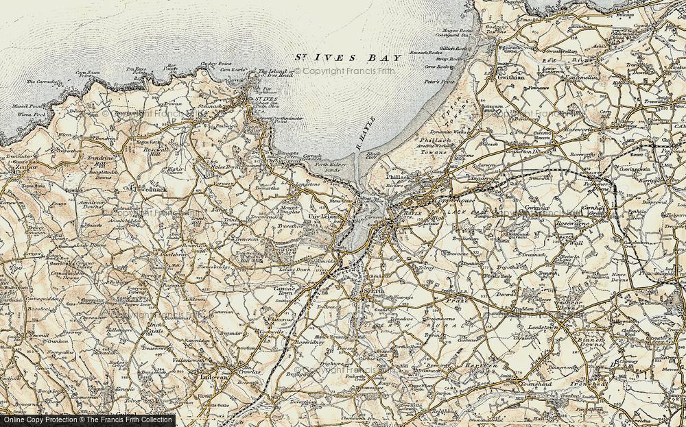 Lelant, 1900