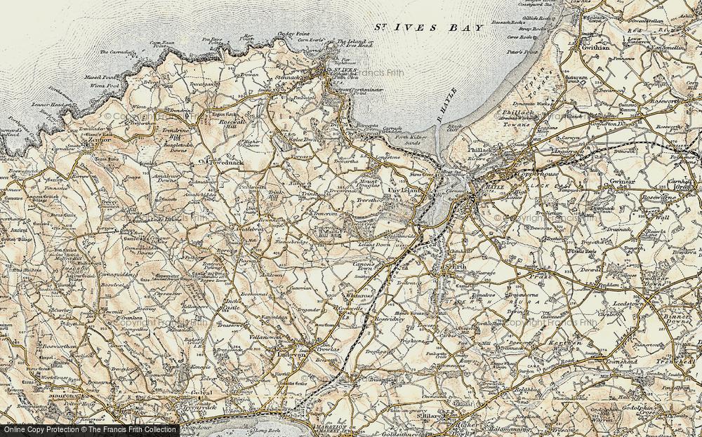 Lelant Downs, 1900