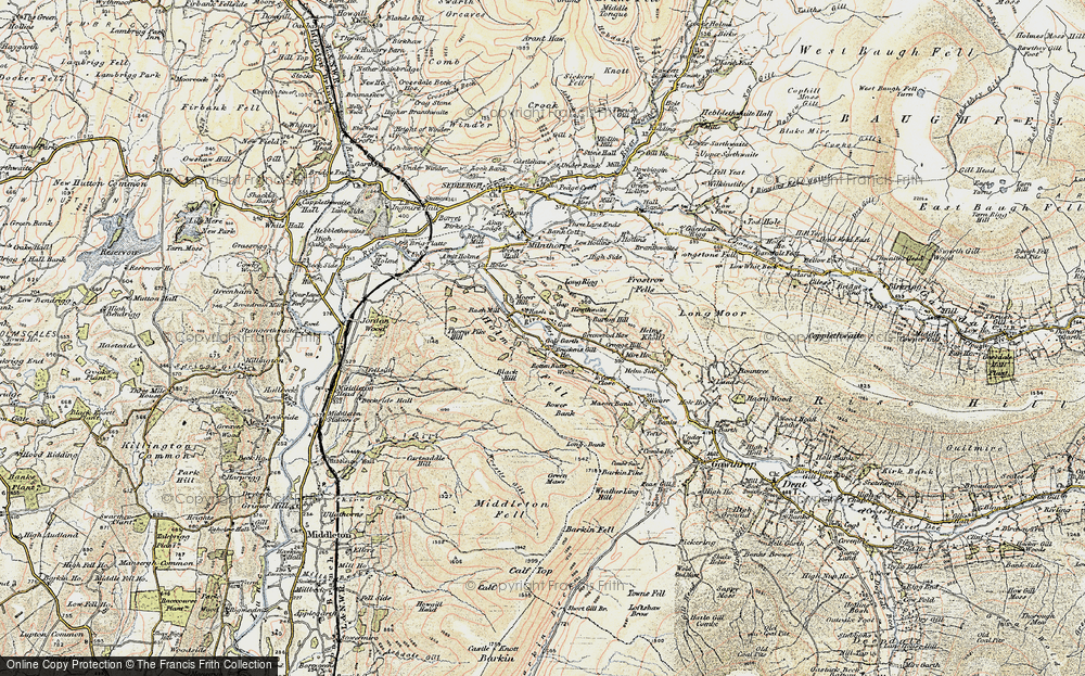 Old Map of Lenacre, 1903-1904 in 1903-1904
