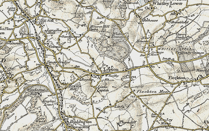 Old map of Lepton in 1903
