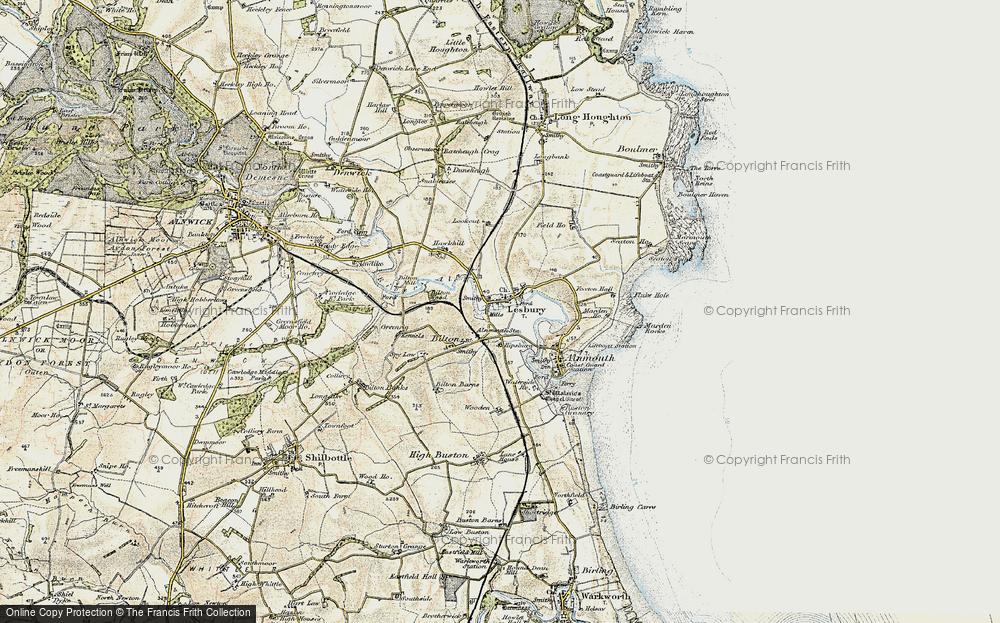 Lesbury, 1901-1903