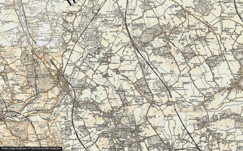 Letchmore Heath, 1897-1898