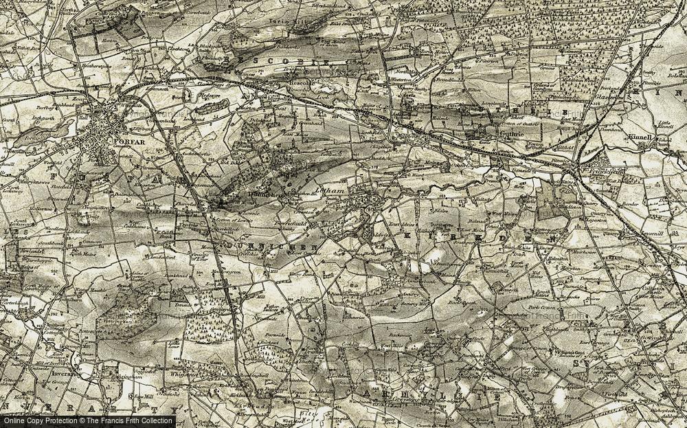 Letham, 1907-1908