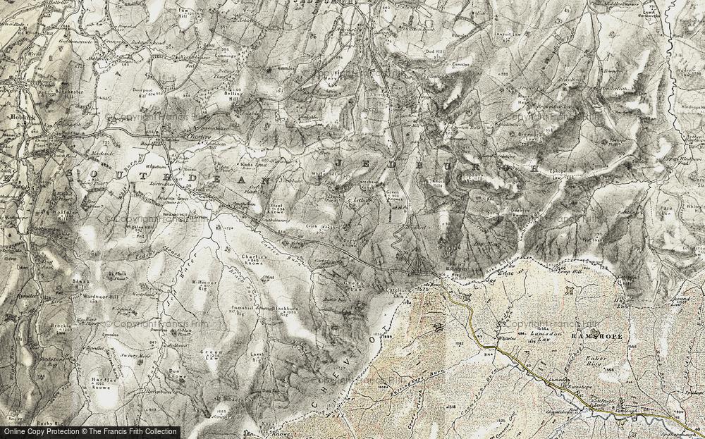 Old Map of Lethem, 1901-1904 in 1901-1904