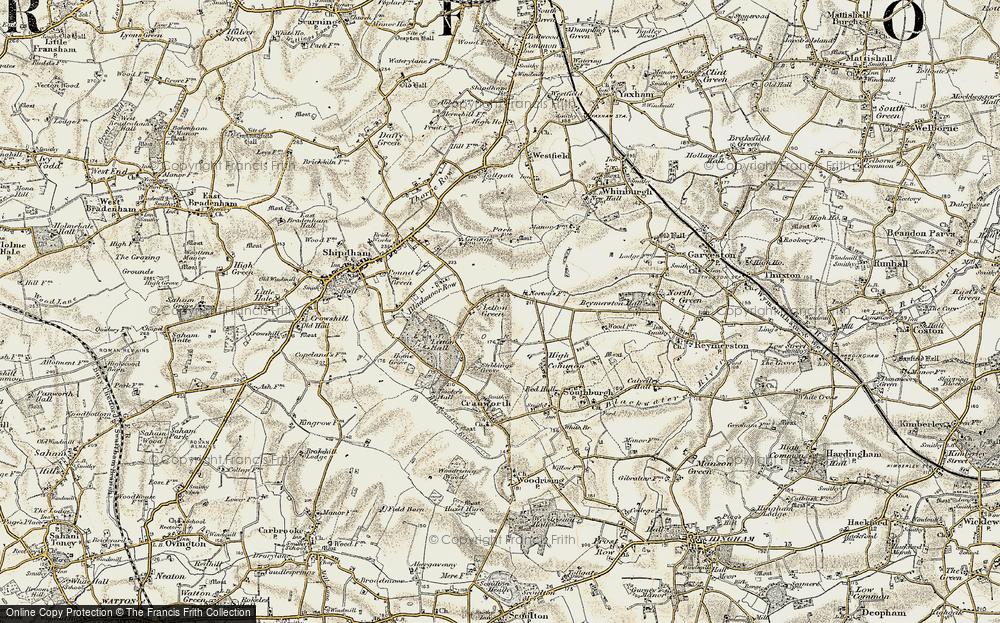 Letton Green, 1901-1902