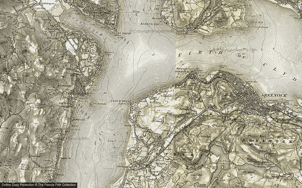 Old Map of Levan, 1905-1907 in 1905-1907