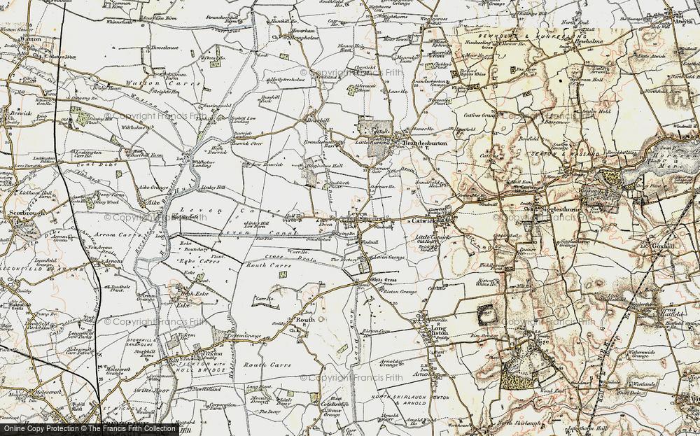 Leven, 1903-1908