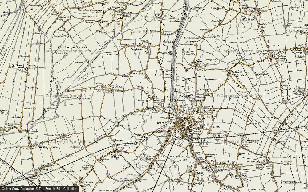Leverington, 1901-1902