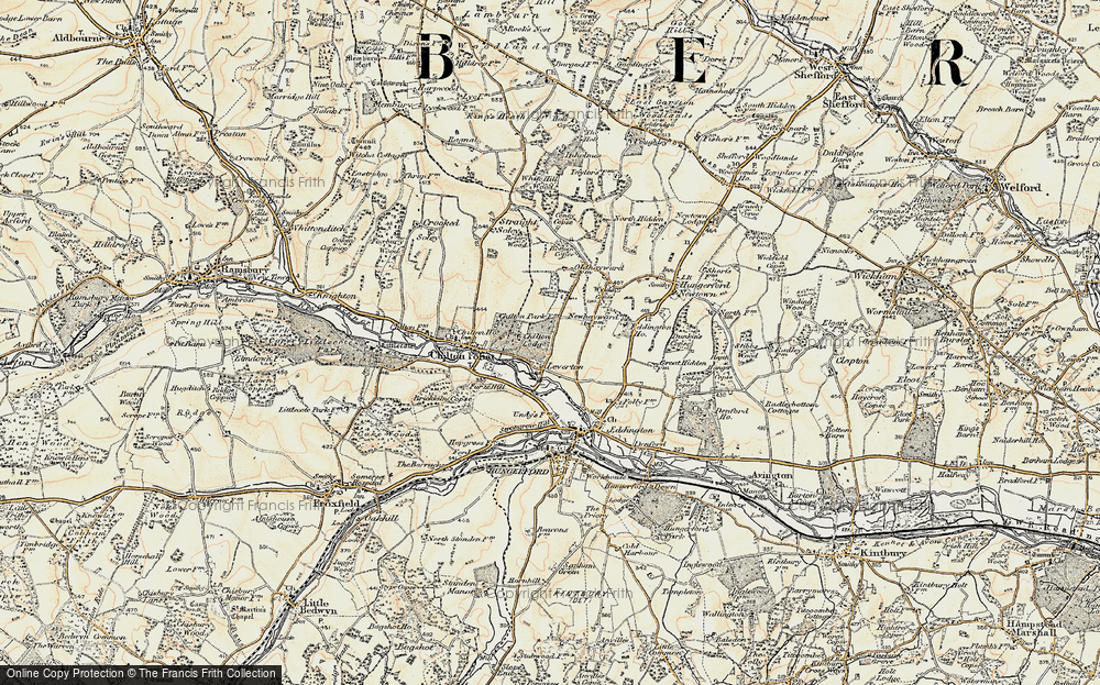 Old Map of Leverton, 1897-1900 in 1897-1900