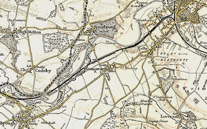 Old map of Levitt Hagg in 1903
