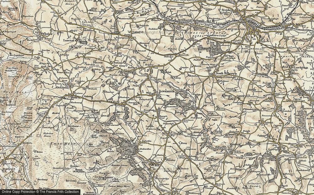 Lewannick, 1900