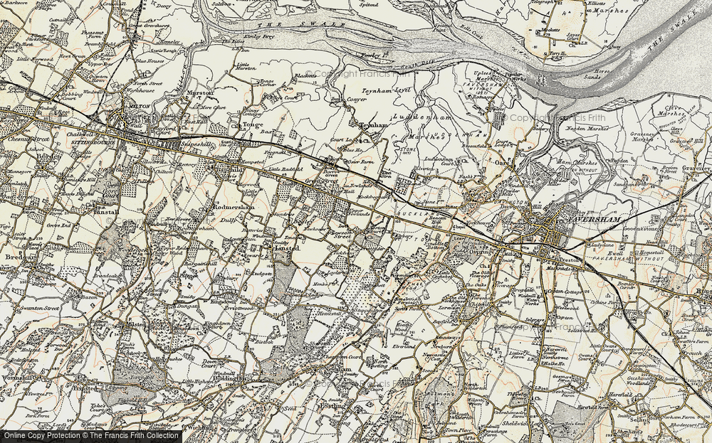 Old Map of Lewson Street, 1897-1898 in 1897-1898