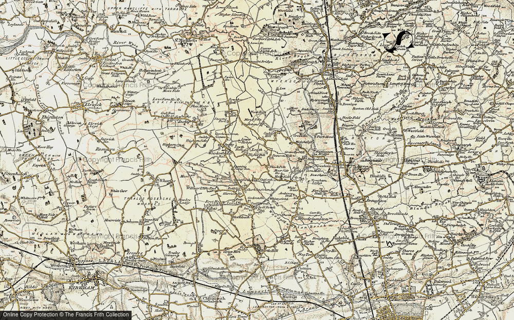 Old Map of Lewth, 1903-1904 in 1903-1904