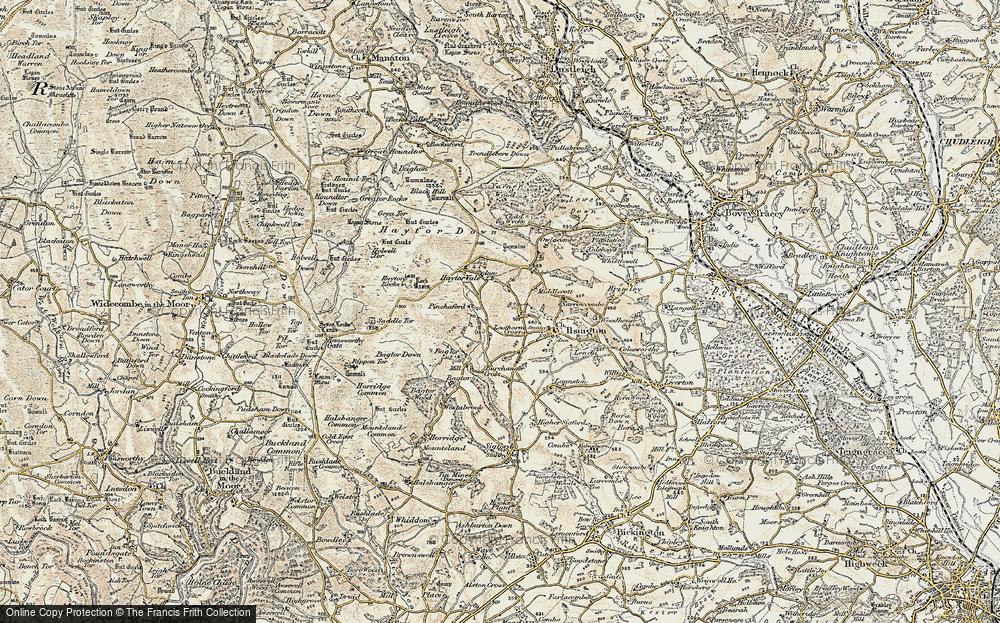 Lewthorn Cross, 1899-1900