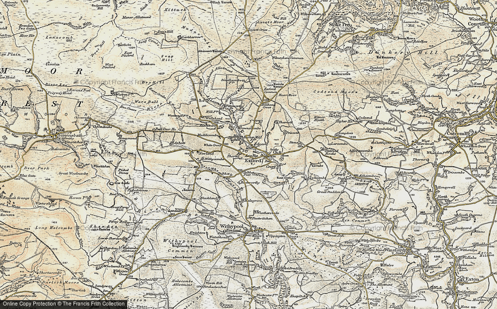 Old Map of Ley, 1900 in 1900