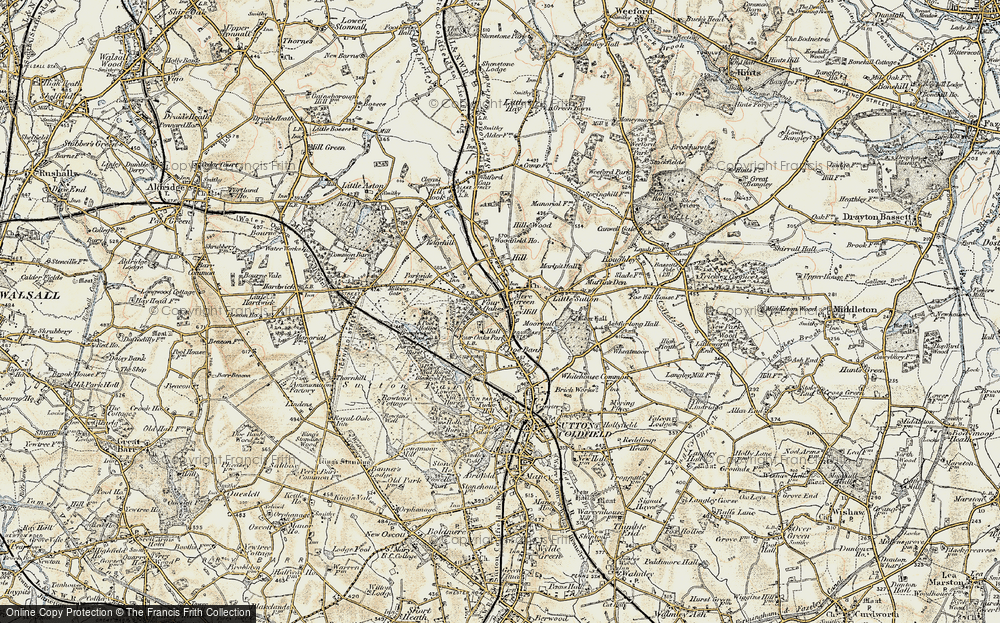 Old Map of Ley Hill, 1901-1902 in 1901-1902