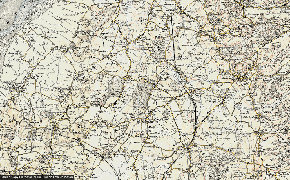 Old Map of Leyhill, 1899 in 1899