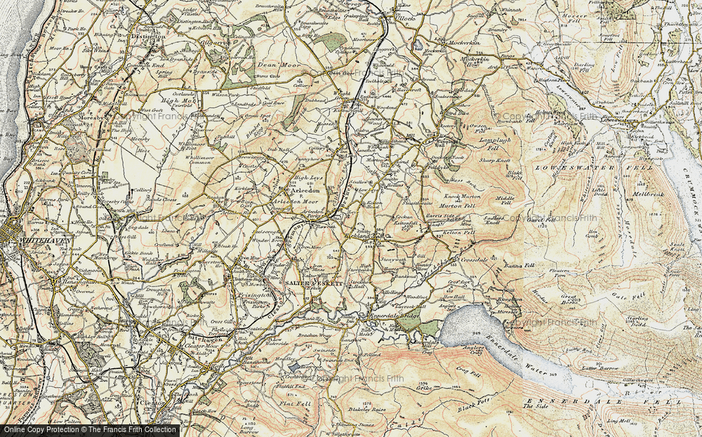 Old Map of Leys, 1901-1904 in 1901-1904