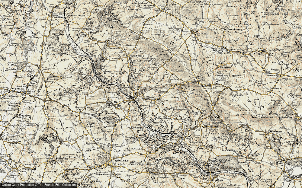 Old Map of Leys, 1902 in 1902