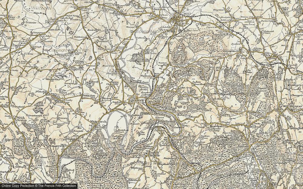 Leys Hill, 1899-1900