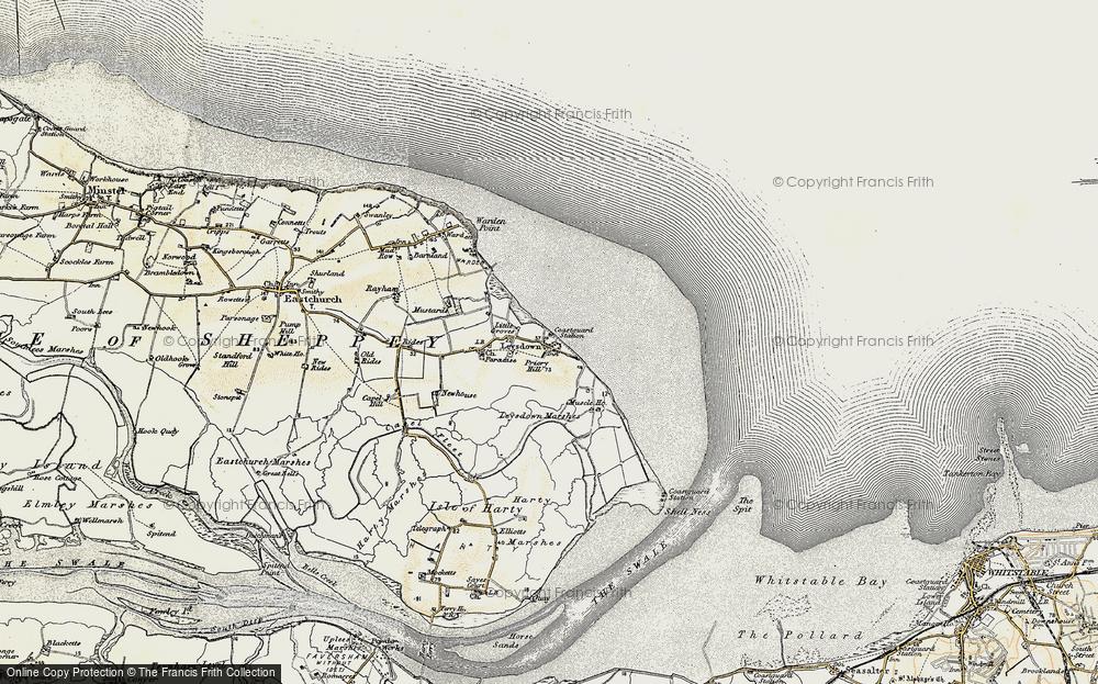 Leysdown-on-Sea, 1897-1898