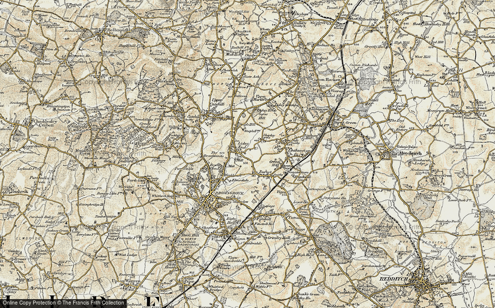 Lickey End, 1901-1902