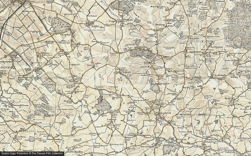 Lidgate, 1899-1901