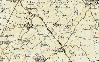 Old map of Lighthorne Heath in 1898-1902