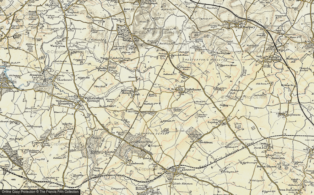 Old Map of Lighthorne Rough, 1898-1902 in 1898-1902