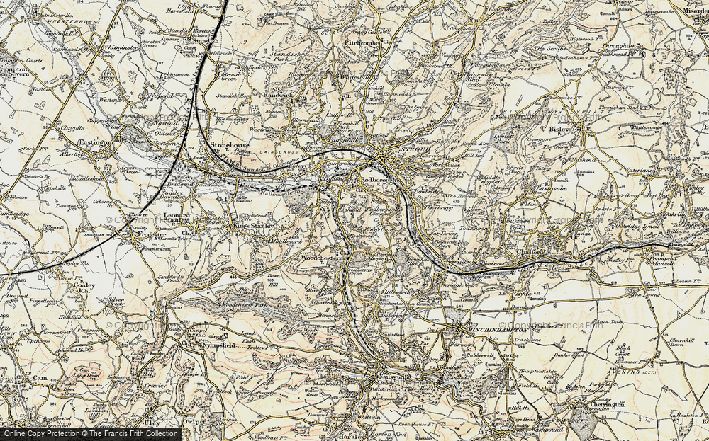 Old Map of Lightpill, 1898-1900 in 1898-1900